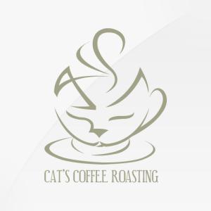 Cat's Coffee - logo design, branding, brand design