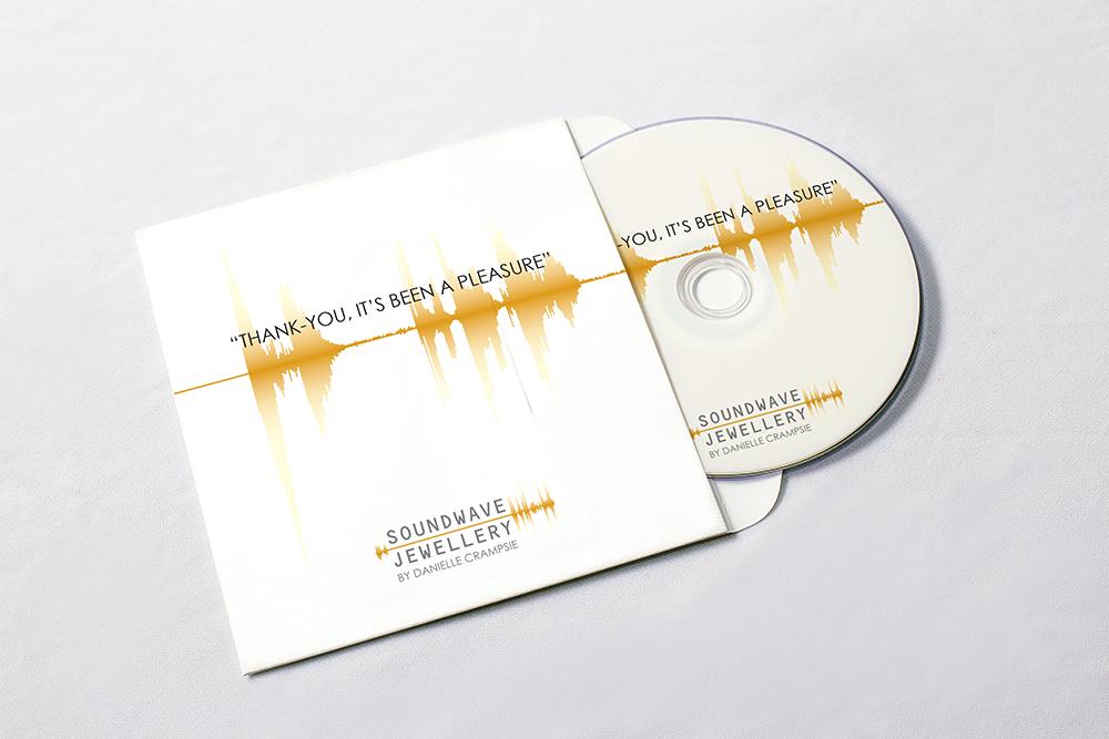 Soundwave Jewellery - cd cover design, logo design, branding, brand design: jewellery, refined, soundwave, logo