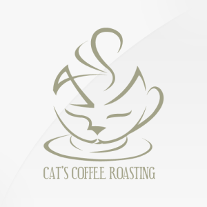 Cat's Coffee - logo design, branding, brand design