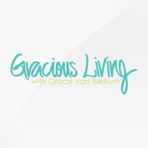Gracious Living - logo design, branding, brand design