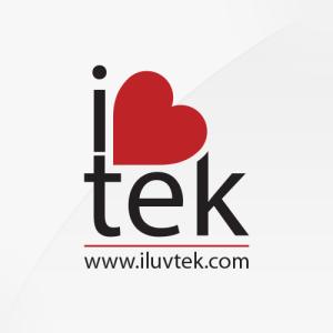iLuvTek - logo design, branding, brand design
